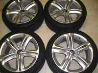 VW Mallory wheels and tires