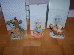 6 collectible CHERISHED TEDDIES - new in boxes