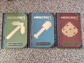Minecraft hardcover books