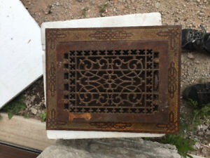 Cast Iron Air Vent For Sale!