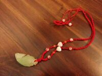 Authentic Jade Fish Necklace