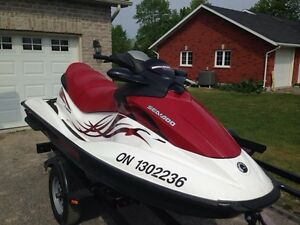 seadoo and double trailer - $7,500.00
