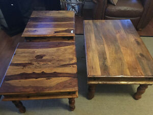 Brand new sold teak coffee tables