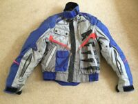 Spidi SR racing light weight summer motorcycle jacket