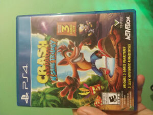 Crash insane trilogy for PS4