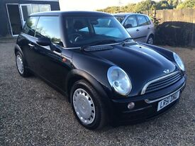 MINI ONE 1.6 2001 LOW MILEAGE IDEAL FIRST CAR CHEAP INSURANCE WARRANTY AND DRIVE AWAY INSURANCE