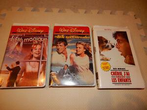 films de Disney en VHS
