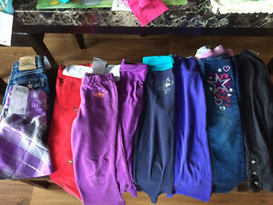 Girls size 5 large lot of fall & winter clothes
