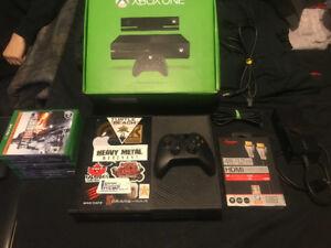 Xbox One 1.5Tb w/ jeux, câble HDMI 4K
