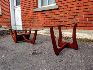 Ensemble Tables Salon Mid Century Style Adrian Pearsall West Island Greater Montréal image 5
