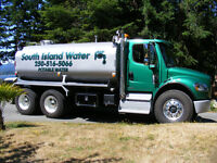 Potable Water Delivery - South Island Water Ltd. -  250-516-5066