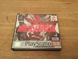 Ps1 Metal Gear Solid immaculate condition