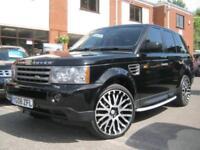 2008 08-Reg Land Rover Range Rover Sport 2.7TD V6 auto HSE,£4000 KAHN ALLOYS!!!