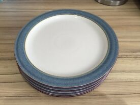 Denby storm Langley 5 small dinner plates