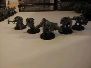 Warhammer 40K - Space Wolf - Terminators