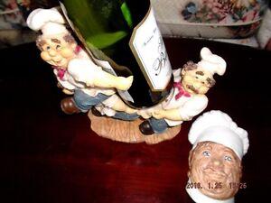 3 Chefs Ceramic  Wine holder for sale Kingston Kingston Area image 1