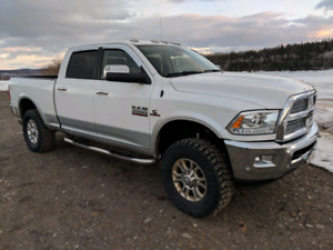 King of the Hill 2016 Ram 2500 Laramie. This truck is huge