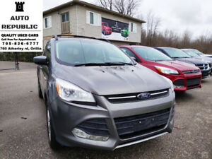 2013 Ford Escape SE, 4x4, 4 cyl, Certified, Automatic