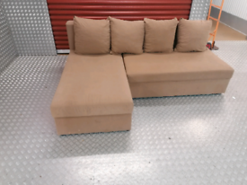 Bargain!! Corner sofa bed with storage local delivery available today