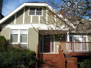 Fully Furnished 3 bedroom Quiet part of Kitsilano