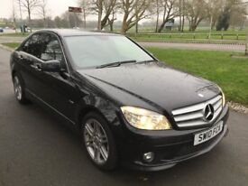 Mercedes C Class C 250 CDI BlueEFFICIENCY Sport Good / Bad Credit Car Finance (black) 2010