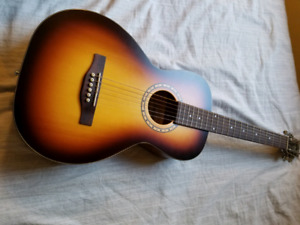 MINT Simon and Patrick Songsmith Parlor Guitar