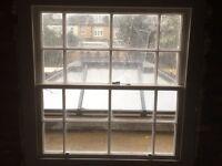 Wooden sliding sash windows .made to measure.