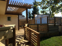 """Deck and Fence Construction - - """"Quality Done Quick"""""""