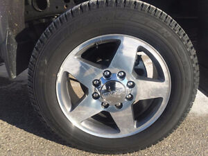 "20"" GM 8 BOLT RIMS & TIRES"
