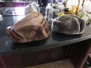 Caribou Sheep Skin Hunting Hat