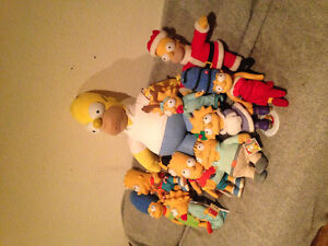 Simpsons collectible plush toys! Prince George British Columbia image 2