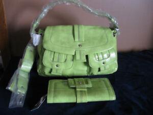 Maxx New York Handbag and matching Wallet