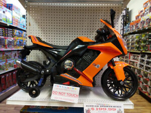 Kids sports bike $200 with supporting wheels & warranty