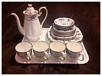 "Royal Albert fine china ""Petit Point"" collection"
