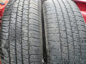 ALL PAIRS TIRES LISTED $60. /PAIR