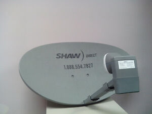 SHAW DIRECT SATELLITE DISHES,RECEIVERS AND LNB'S