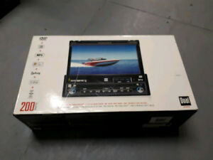 DUAL XDVD 710 receiver with TFT LCD with  BMW plug
