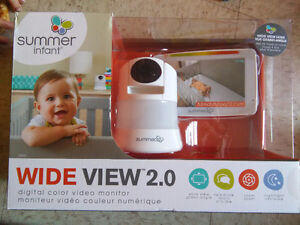 Summer, Wide view color monitor 2.0