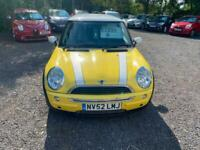 2002 52 Mini Cooper, main dealer part ex, with full mot and 3 months warranty
