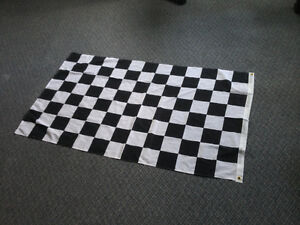 Race chequered flag like NEW drapeau comme NEUF