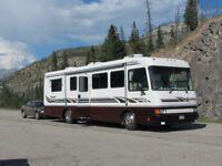MOTORHOME CLASS A/DIESEL PUSHER/300 CAT