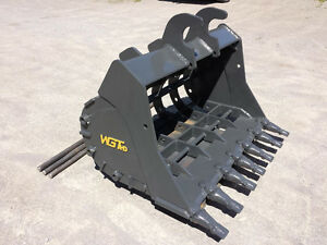 WGT Skeleton Buckets - Excavator, Backhoe, Loader