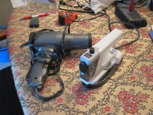 TRAVEL HAIR DRYER AND CLOTHES IRON