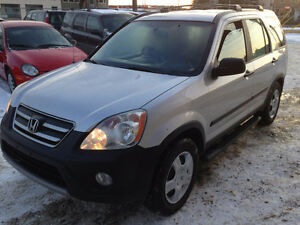 2006 HONDA CRV AWD 7 MONTH WARRANTY