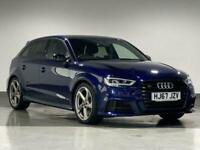 2017 Audi A3 S3 TFSI Quattro Black Edition 5dr S Tronic HATCHBACK Petrol Automat