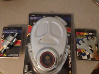 Chrome timing cover & accessories