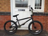 WE THE PEOPLE. GOLD JUSTICE EDITION. PROFESSIONAL BMX BIKE £135 ONO