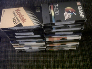 22 VHS Sports Tapes