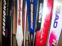 DOWNHILL  SKIS  --  2  SETS