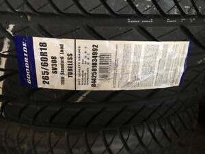 BRAND NEW with tag.... 265/60R18 GOODRIDE SV308 all seasons